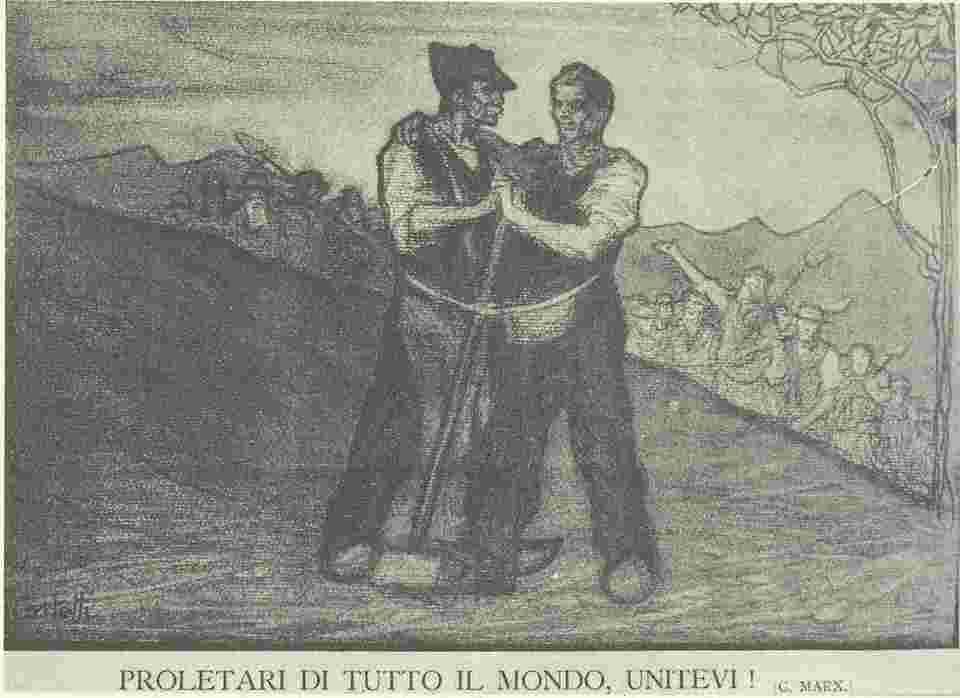 Giovanni Costetti,義大利五一海報,1900年