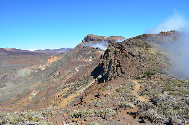 On the crater rim, Teide National Park, Tenerife