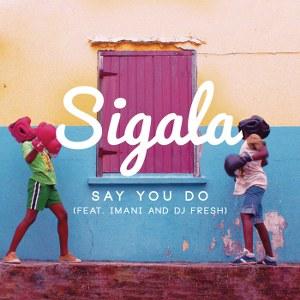 Sigala – Say You Do (feat. Imani & DJ Fresh)
