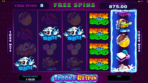 Peek-a-Boo 5 Reels Free Spins