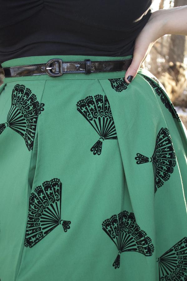 fan skirt tatyana