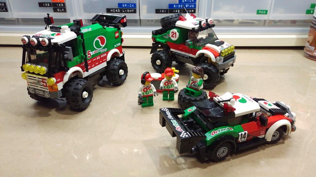 lego mod octan racing rally car 1103 s p a flickr. Black Bedroom Furniture Sets. Home Design Ideas