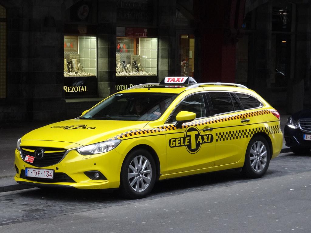 Mazda 6 Wagon Taxi The Third Generation Of The Mazda 6