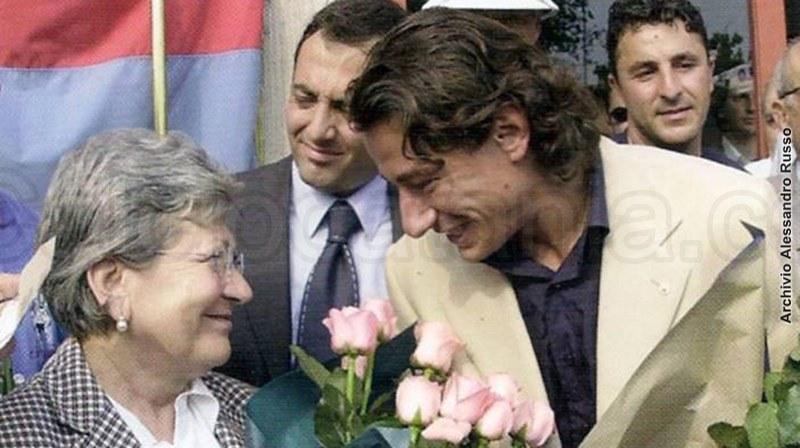 Grazia Codiglione insieme a Riccardo Gaucci