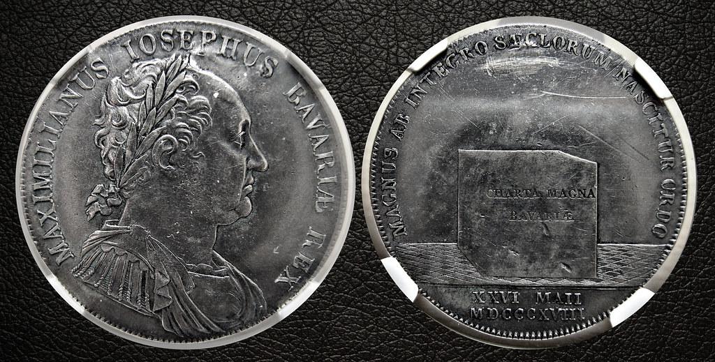 Thaler 1818 - Maximilian I Joseph - Kingdom of Bavaria  25424028336_2fea962894_b