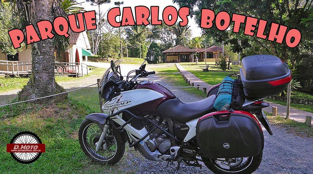 Nas curvas da Serra da Macaca, no Parque Carlos Botelho