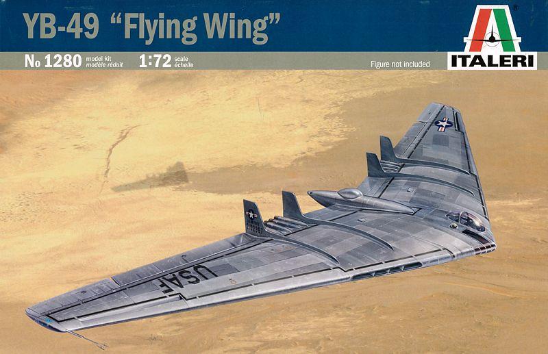 Les géants des airs : Le Northrop YB-49 [Italeri 1/72] 24681905954_a1dc14cf31_b