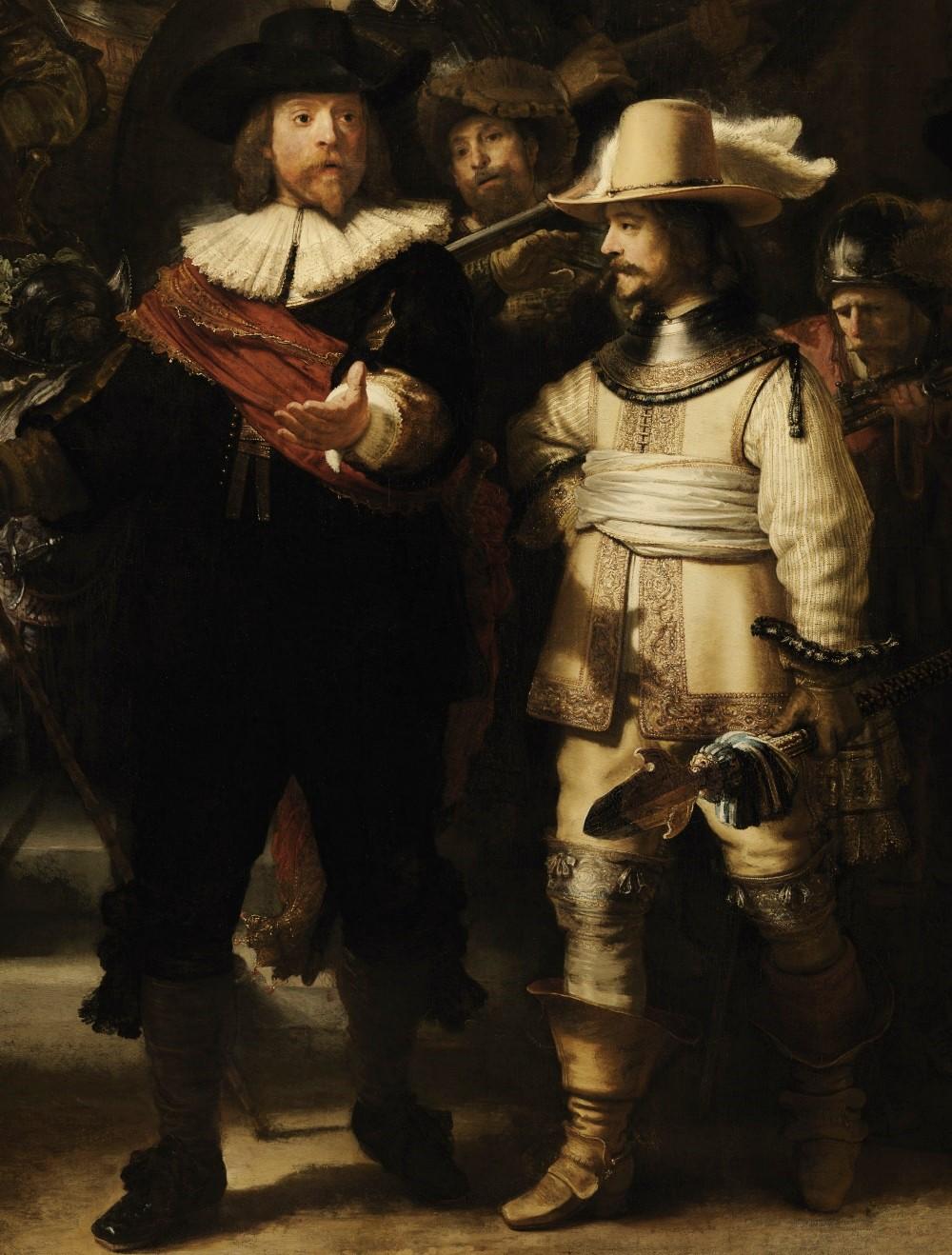 Captain Frans Banning Cocq and Lieutenant Wilhelm van Ruytenburgh