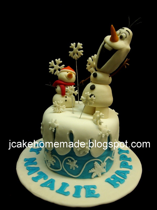 Pleasant Olaf Birthday Cake Happy Birthday Natalie Thanks Khoo For Flickr Birthday Cards Printable Inklcafe Filternl