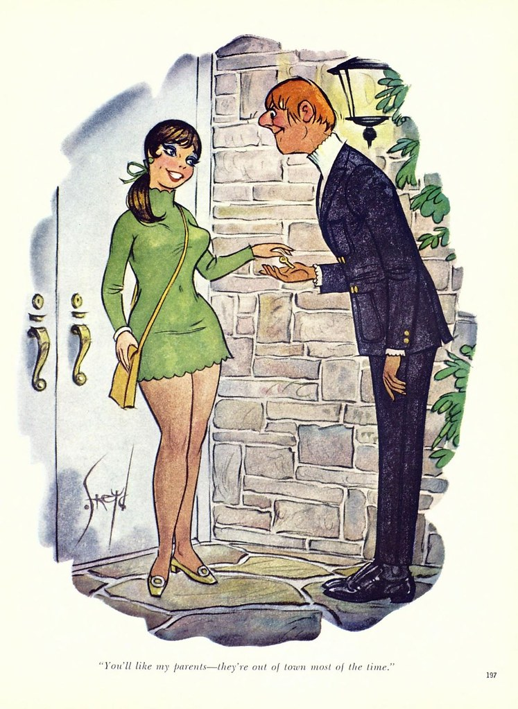 Doug Sneyd  Playboy Cartoon 1960S  Susi Pator  Flickr-2190