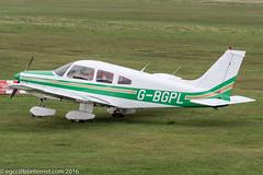 G-BGPL - 1979 build Piper PA-28-161 Cherokee Warrior II, visiting Barton