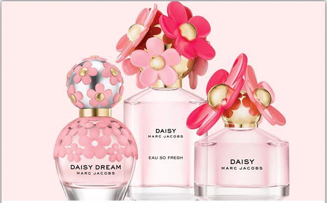 Daisy de Marc Jacobs, fragancias, visual