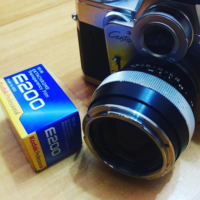 Contarex 25mm F2.8 入手測試