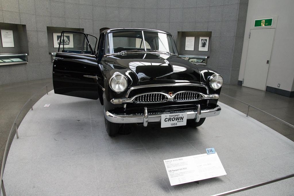 トヨペット クラウン RS型(1955年)