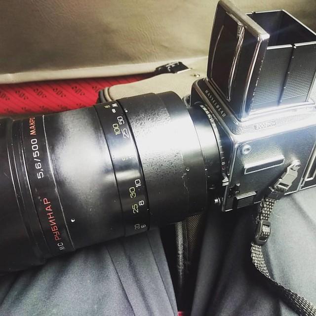 Rubinar 500mm f5.6 中片幅測試