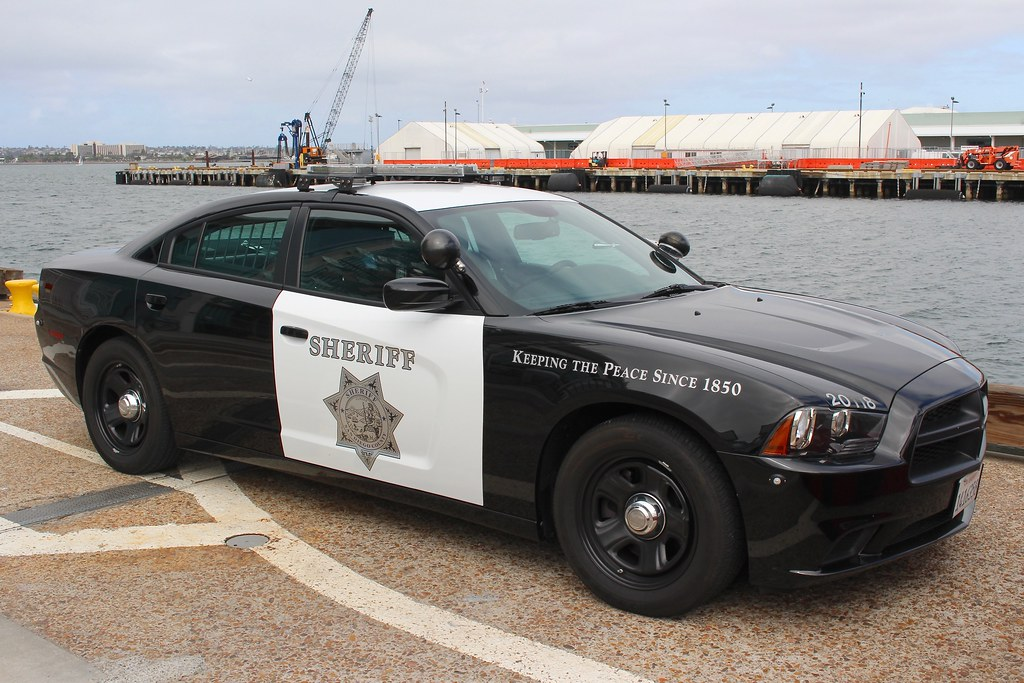 San Diego Sheriff Dodge Charger In San Diego California