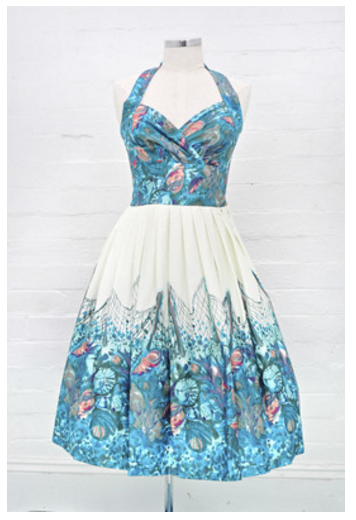 retrospec'd seashell dress