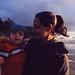 Val and Henry on Indian Beach - Oregon coast, November 2015