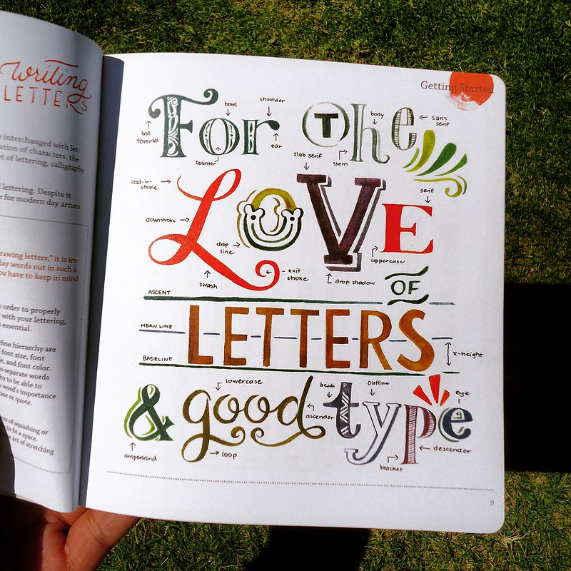 the abcs of hand lettering is a comprehensive guidebook for beginners in hand lettering inside youll find a repository of styles you can explore with