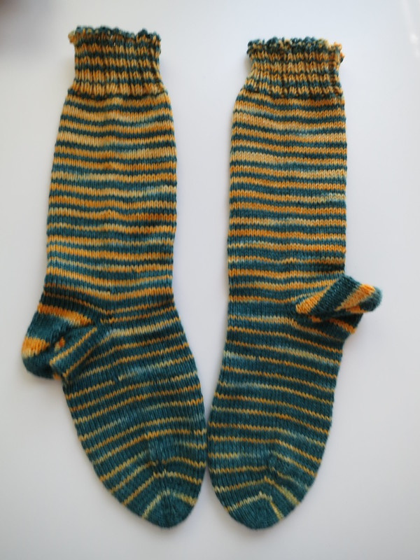 Gradient Stripe Socks: Lambeau Leaps
