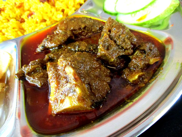 Islamic Nyonya Kafe, mutton curry