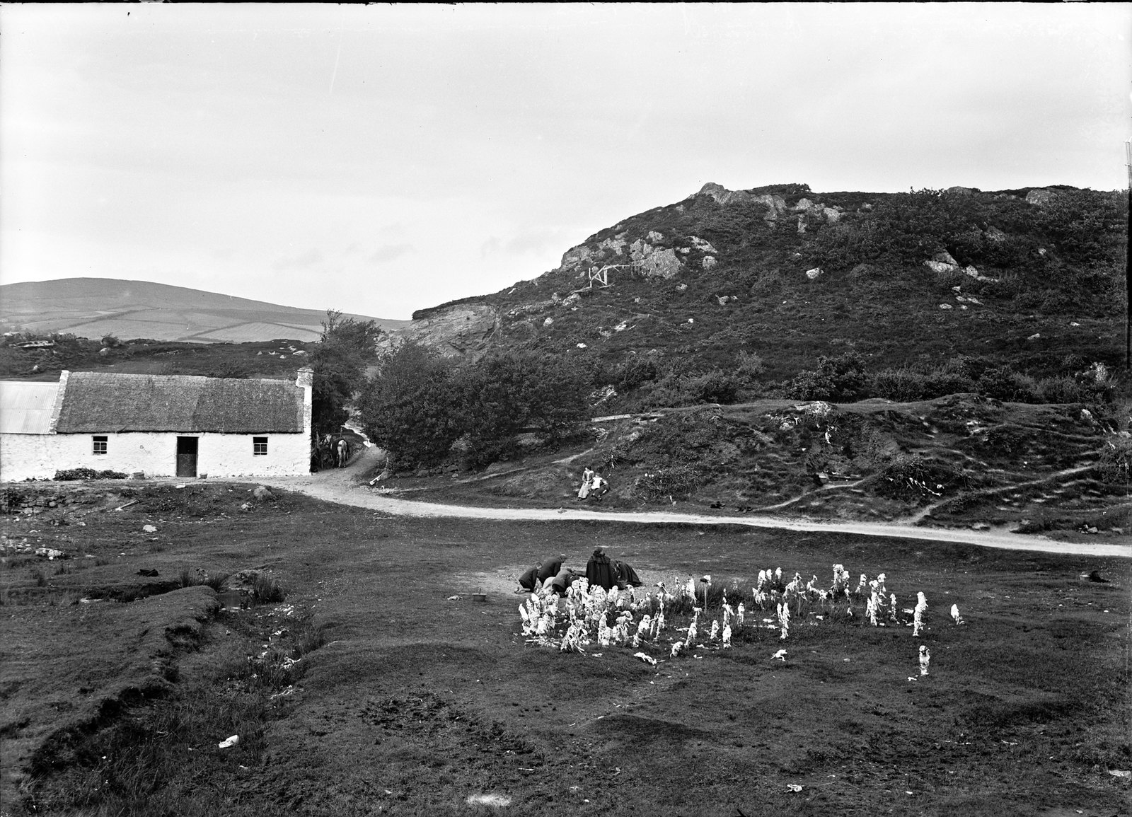 Doon Well, Donegal Highlands, Termon, Co. Donegal   by National Library of Ireland on The Commons