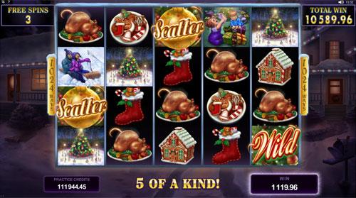 Happy Holidays Bonus Game