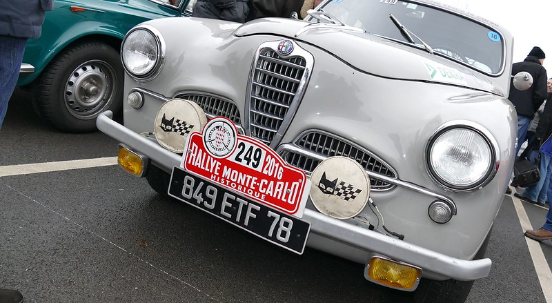 Alfa 1900 Ti Super 1955 Monte Carlo Historique 2016 - Rambouillet Dim 21 Février 2016 24880193330_02b41fb505_c