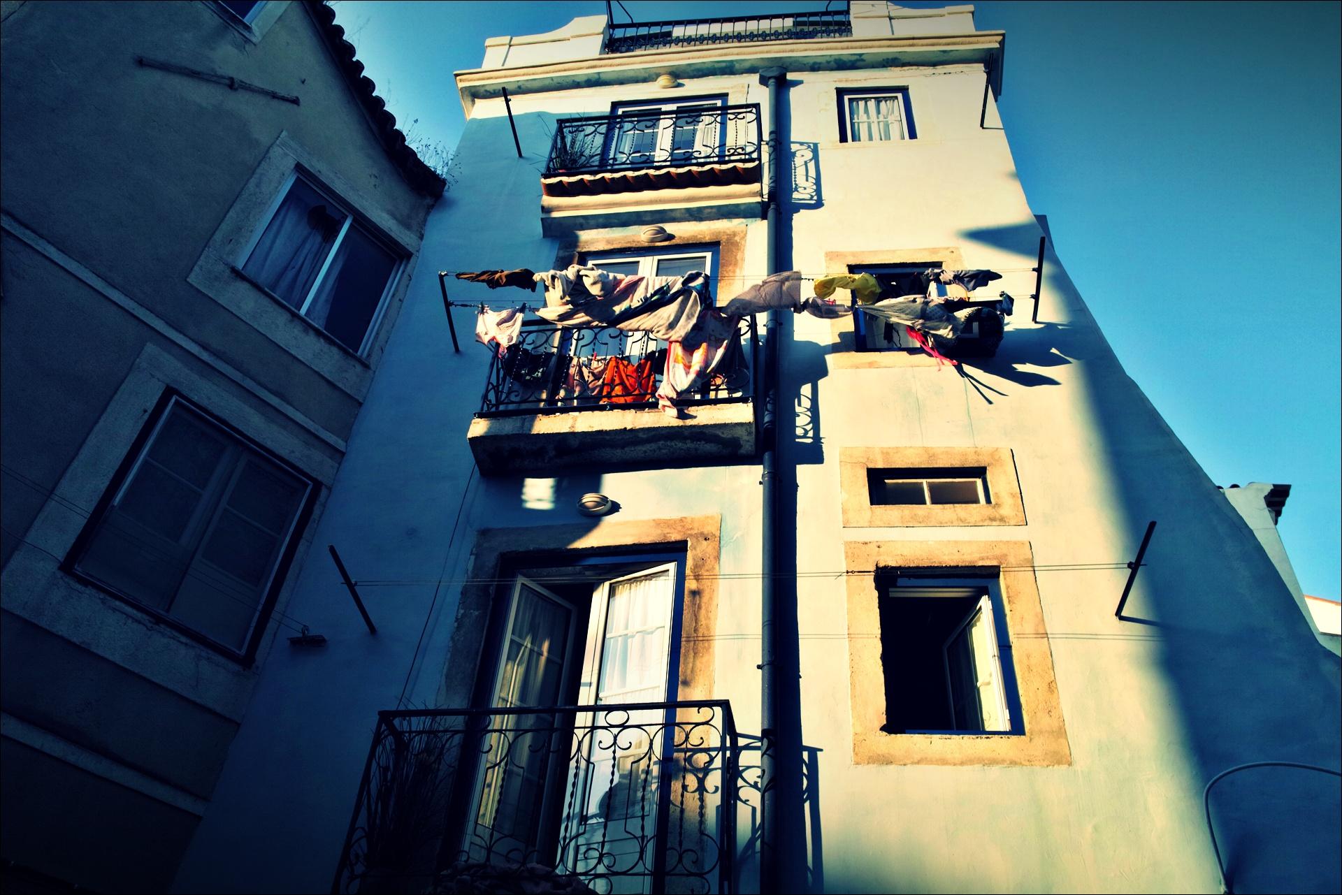 알파마 빨래 -'리스본 Lisbon'