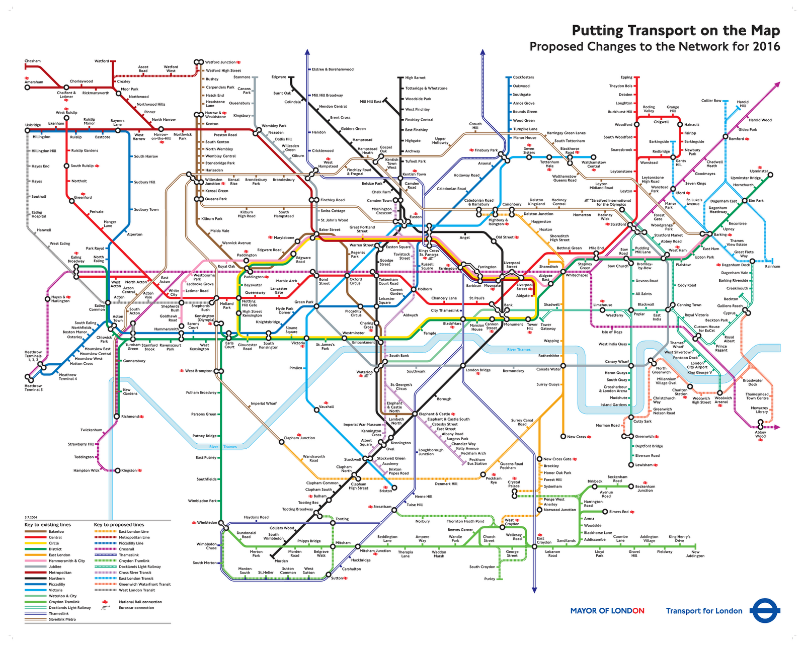What the 2016 Tube Map was supposed to look like