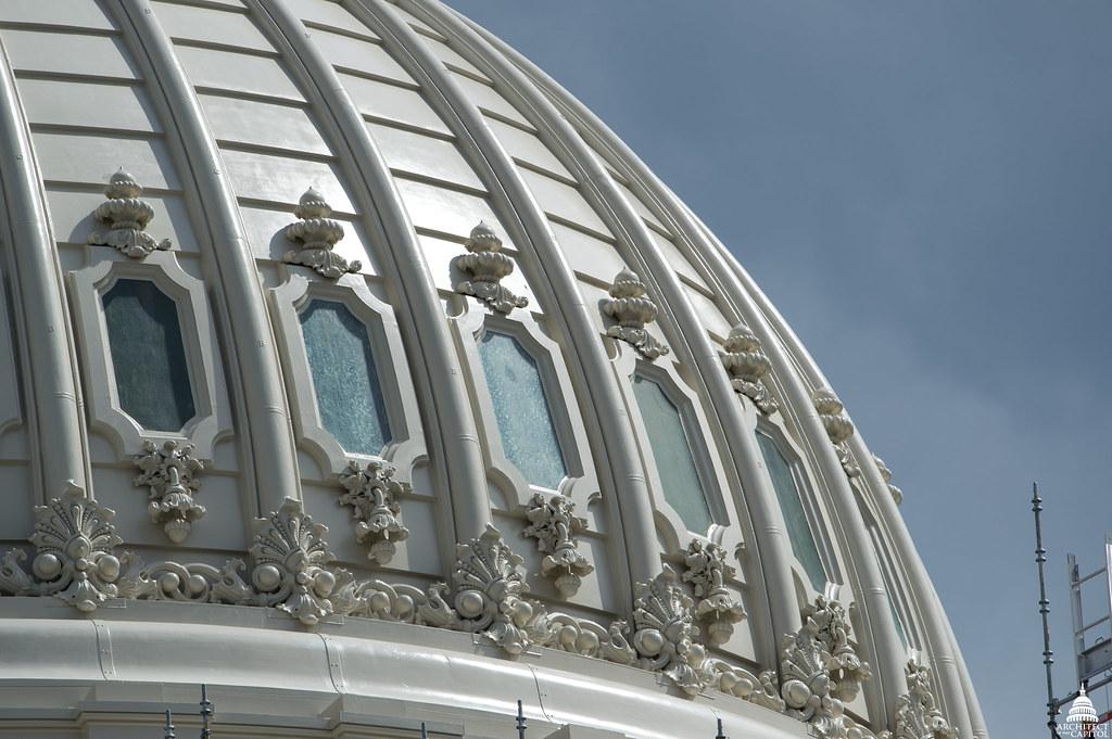 Capitol Dome Restoration - April 2016