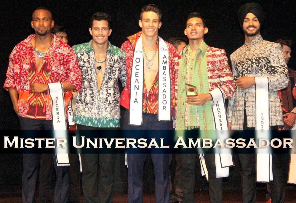 Mister Universal Ambassador