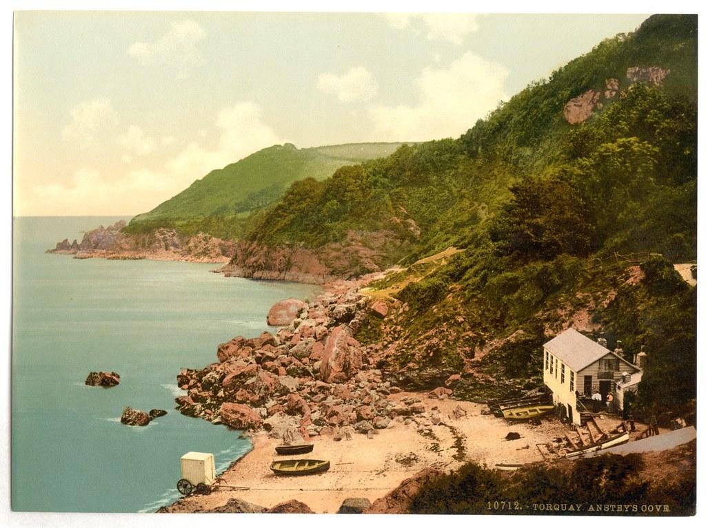 Anstey's Cove, Torquay, Devon