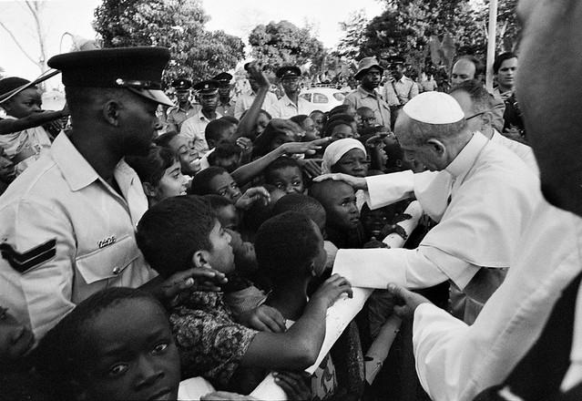 Paul VI en Uganda
