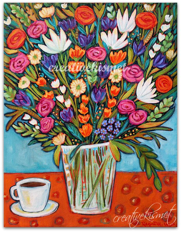 Freshly Cut - Art by Regina Lord