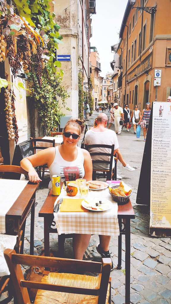 AL fresco in Rome, via It's Travel O'Clock