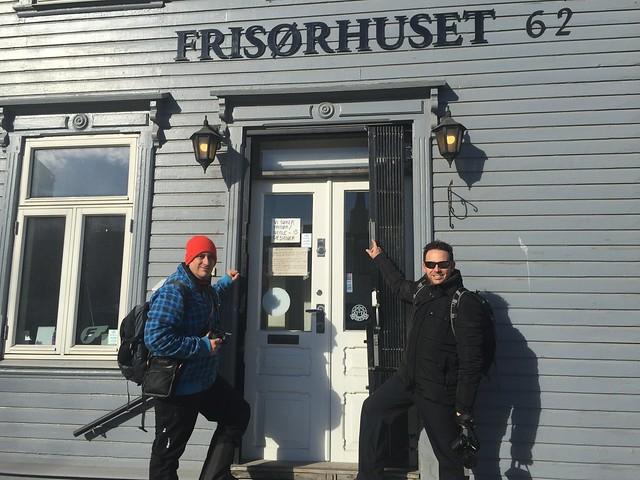 Sele e Isaac en Tromso (Laponia Noruega)