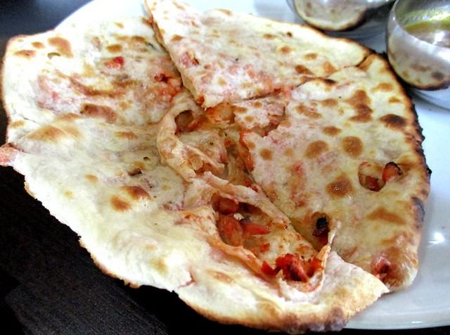 Cafe Ind Tandoori chicken paratha