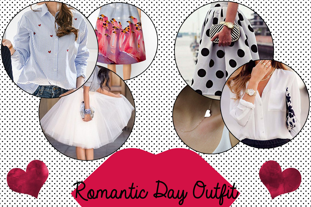 Romantic Day Outfit: Cosa indossare a San Valentino.