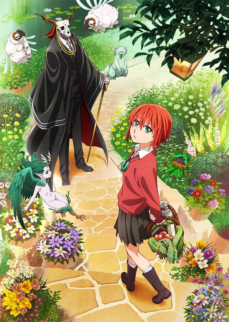 160311(1) - WIT STUDIO改編「人外師父×少女徒弟」溫馨漫畫《魔法使的新娘》為原創OVA三部曲!