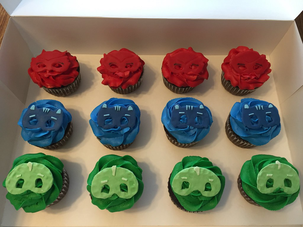 Pj Masks Birthday Cake Walmart