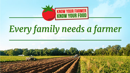 Know Your Farmer, Know Your Food badge