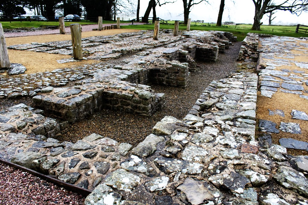 Granaries at Birdoswald Roman Fort