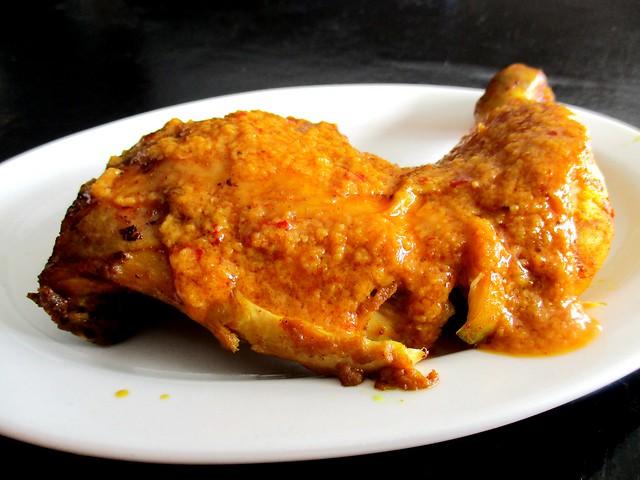 Ayam percik Keripan Cafe