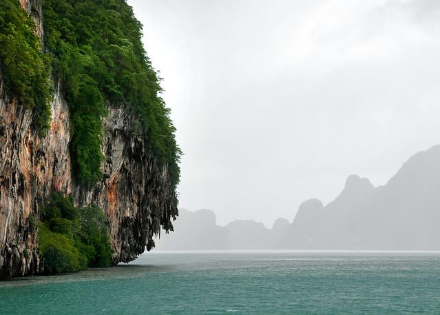 Postales entre las islas del precioso mar de Andamán en Tailandia