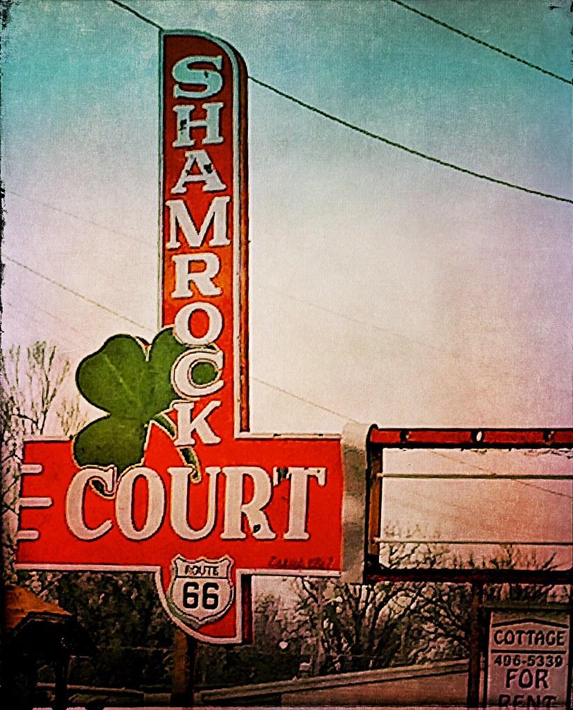bygone times shamrock court motel springfield mo. Black Bedroom Furniture Sets. Home Design Ideas