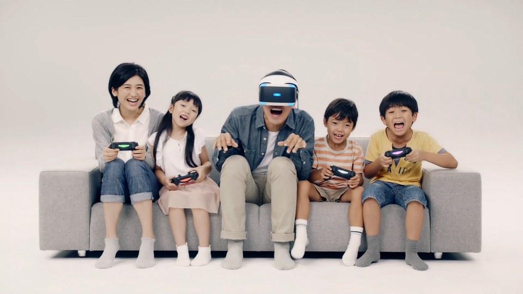 透過PlayStation®VR見證虛擬實境遊戲的未來!