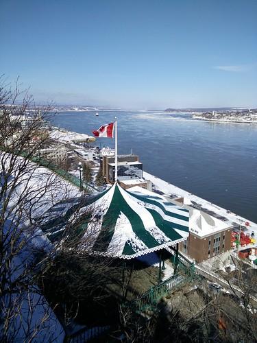 Le St-Laurent, Québec