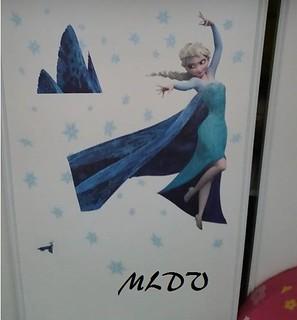 stickers la reine des neiges