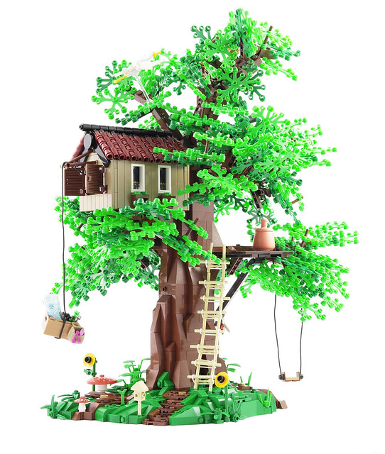 Simply A Tree House The Brothers Brick The Brothers Brick